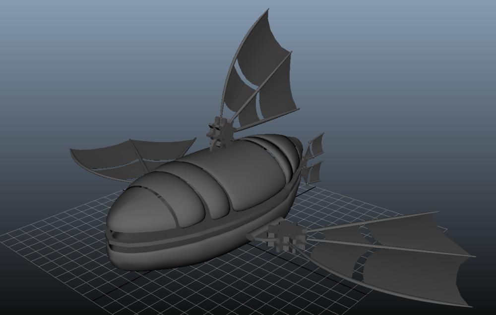 Ship before assembling