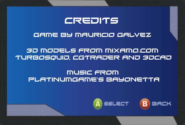 Credits Screenshot