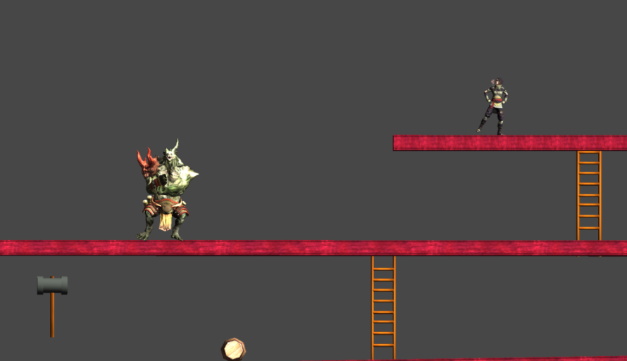 If you make it to the end of the game both the player and the boss will dance!
