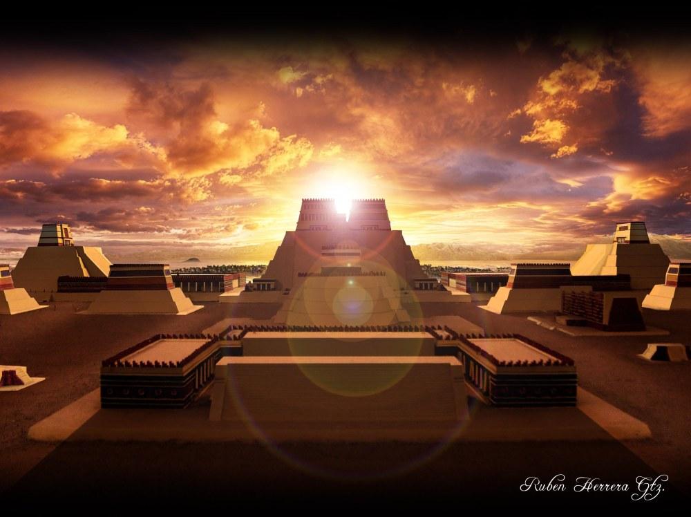 Tenochtitlan - Templo Mayor