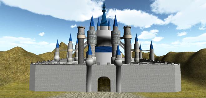 Hyrule castle1