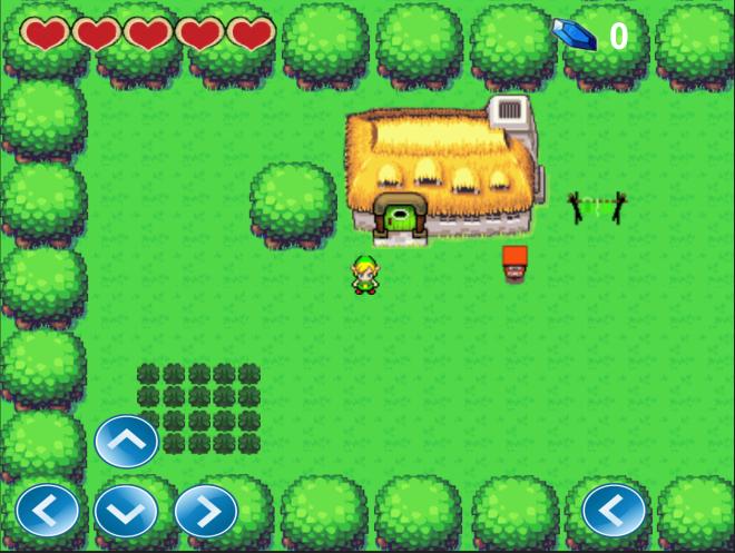 2D Zelda Clone