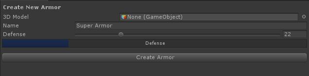 Armor Creator Tool